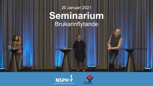 Seminarium – Metoder och verktyg för ökat brukarinflytande