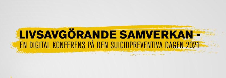 Tankar från vår kanslichef om Livsavgörande samverkan på suicidpreventiva dagen 2021